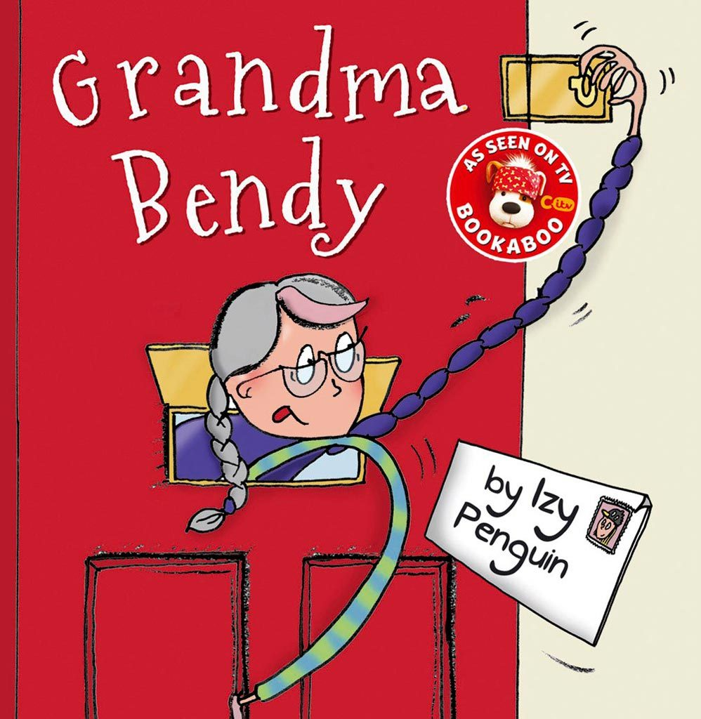 front cover illustration of children's book Grandma Bendy