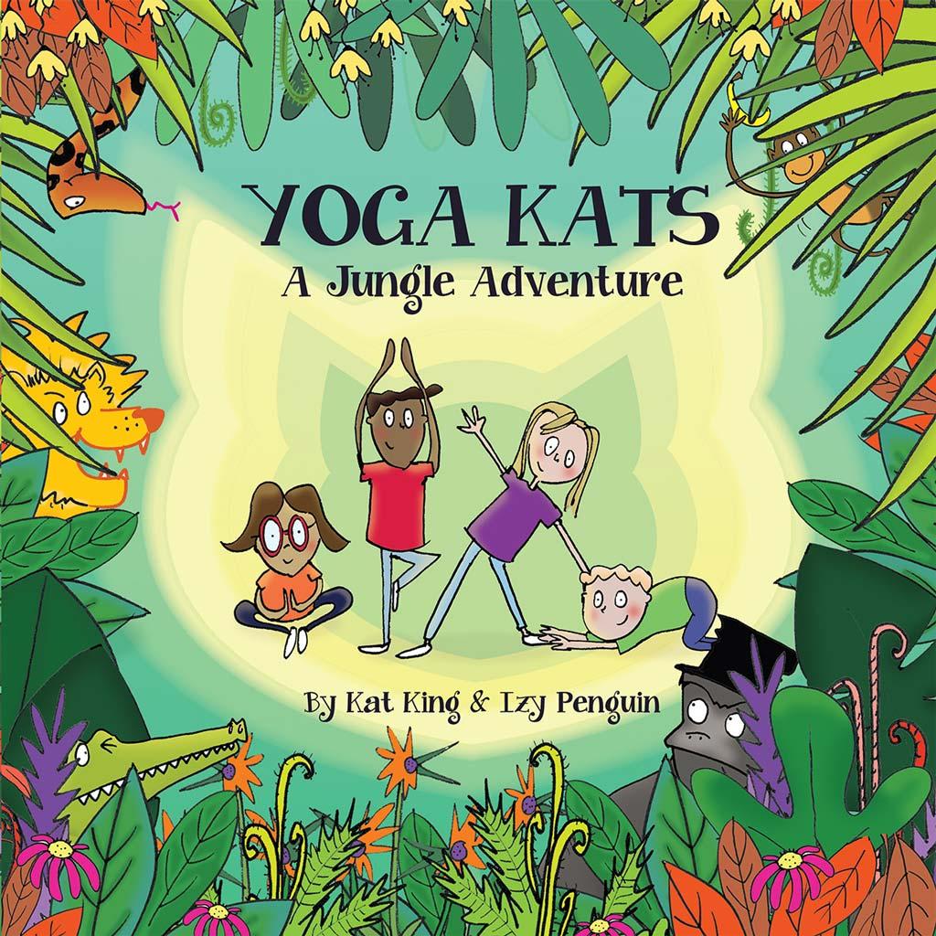 Yoga Kats a Jungle Adventure Book Cover